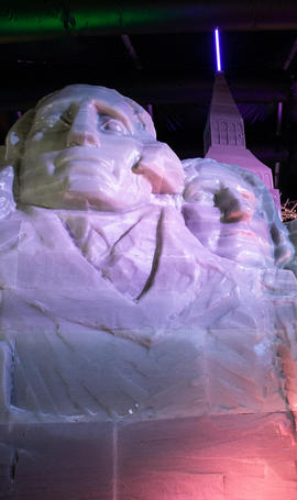 Mt. Rushmore Ice Land