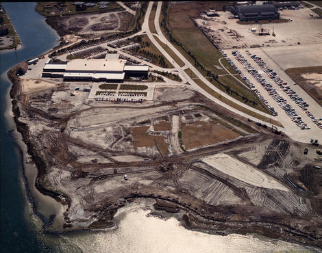 Land Before Moody Gardens was Built